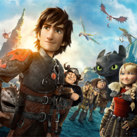 How to Train Your Dragon Franchise Site